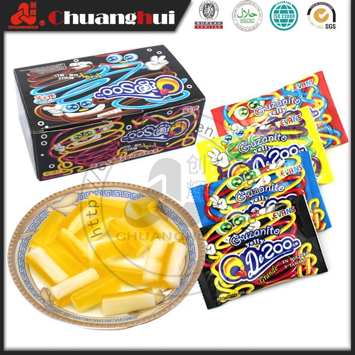 Hight Quality New Shape Halal Fruit Jelly Candy 30g Jelly Grain / Fruit Jelly