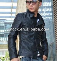 14PJ1231 Fashion slim fit mens leather jacket