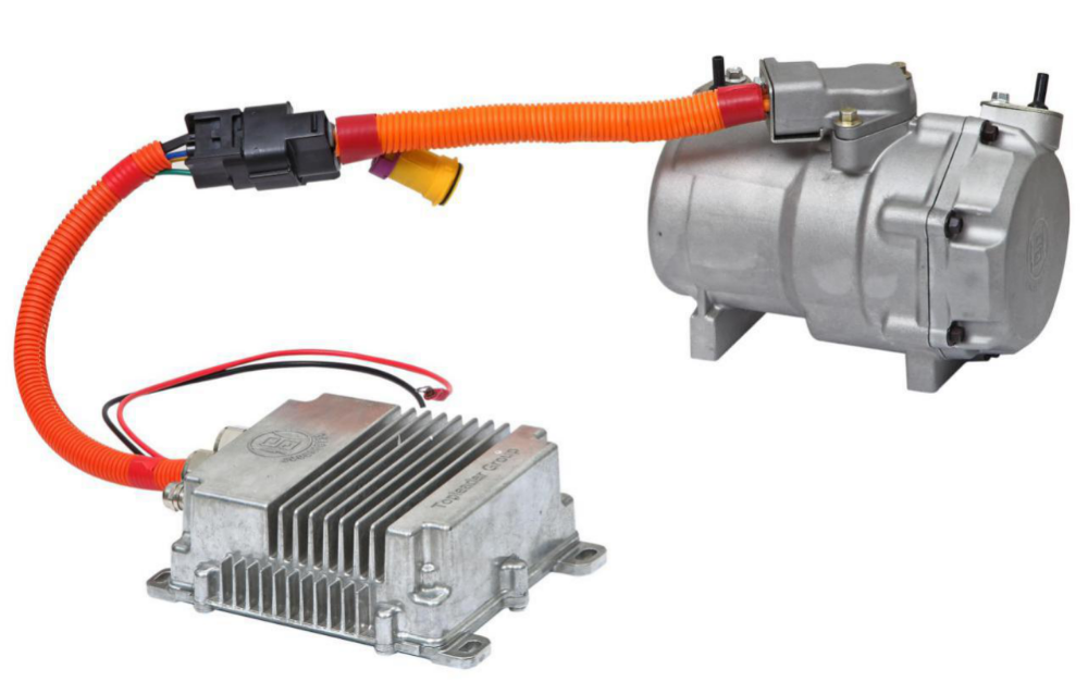 24v split air conditioner compressor for car with r134a