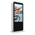 55inch high brightness floor stand LCD outdoor advertising digital signage