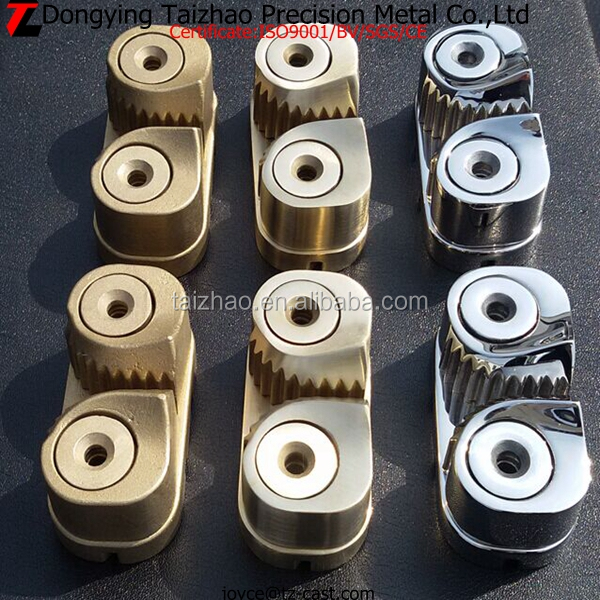 Marine hardware Stainless steel/Aluminum bronze cam cleat for 5-12mm rope