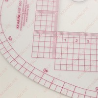 Kearing brand 58CM dressmaking ruler,armhole curve ruler,tailor curve ruler sewing ruler#6501