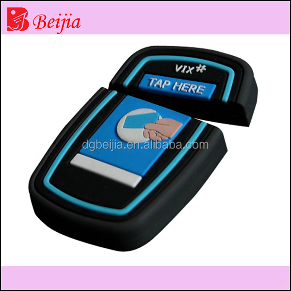 indestructible customized rubber usb flash drive housing, label usb flash drive