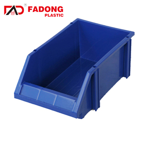 warehouse back hanging Storage Boxes work bin plastic storage bins