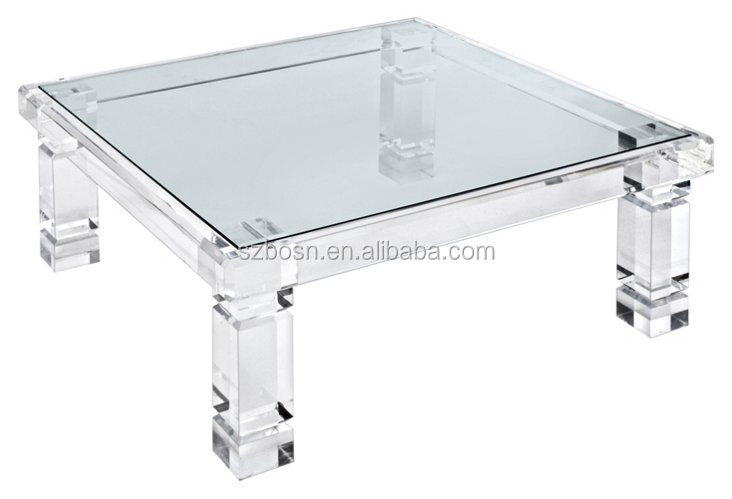 Clear Acrylic Cocktail Table Wholesale