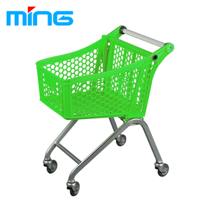 grocery supermarket mini plastic children shopping push trolley cart for kids