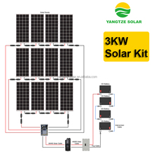 High effective 3kw off-grid solar power system