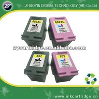 Zhuhai compatible pinter cartridge ink for printers 802 normal and high capacity