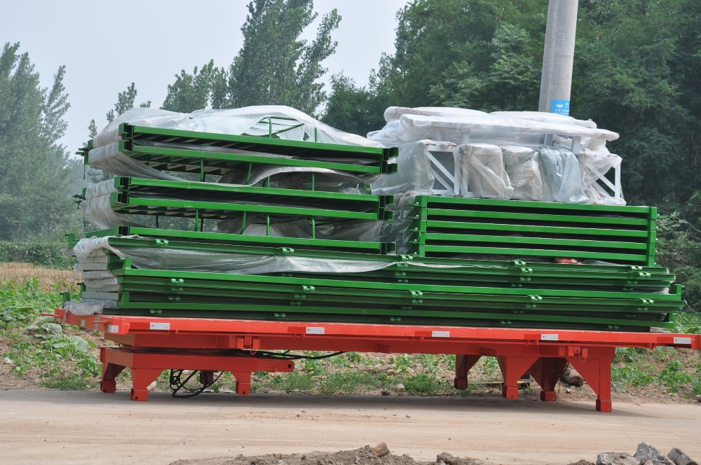 2 Ton Farm Hydraulic Lifting Trailer