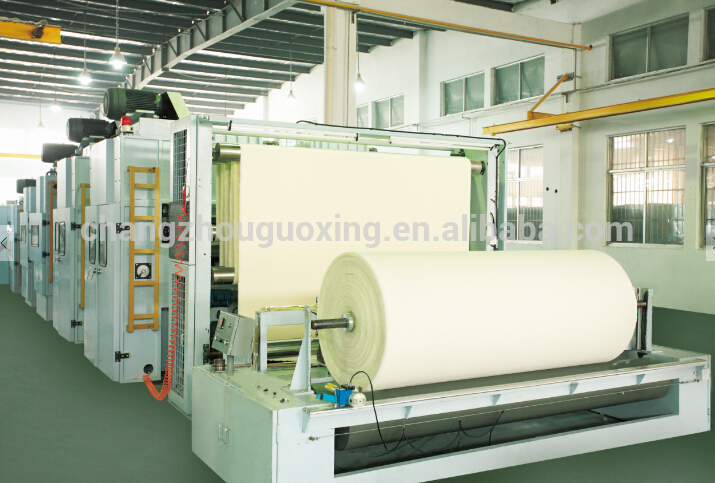 380V needle punch nonwoven machine with best quality and low price