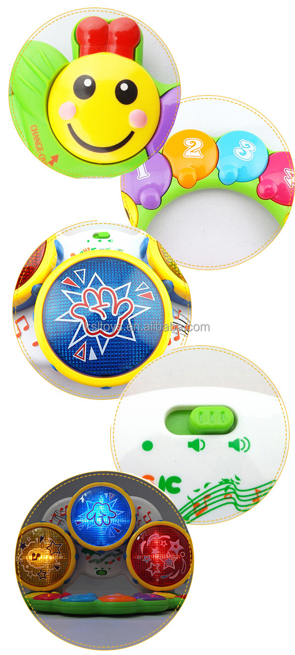 Hot electronic cool hand clap multifunction drum toys for kids