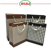 Factory price luxury design quality jewelry pakcing paper bag gloss laminated paper carrier bags