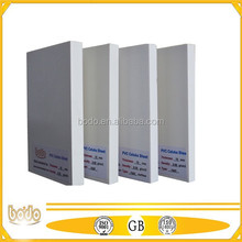 SINTRA PVC sheets / boards with waterproof and Fire Resistance black