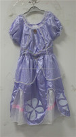 Child 3-4 Years Sofia The First New Fancy Dress Costume Princess Kids Girls Dress