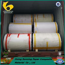 Silicon coated paper for self-adhesive paper