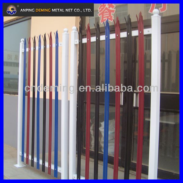 DM Colored Palisade fencing