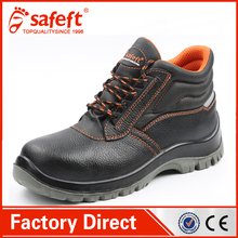 high heel steel toe fashionable brand name woodland industrial safety shoes