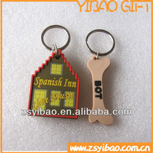 Soft PVC Keychain,Eco-friendly PVC Keyrings, Soft PVC Key Holder for promotion