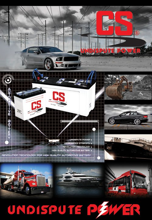 Automotive battery CS