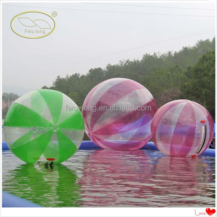 Suzhou Fwulong human sized hamster ball/water walking ball/inflatable water ball