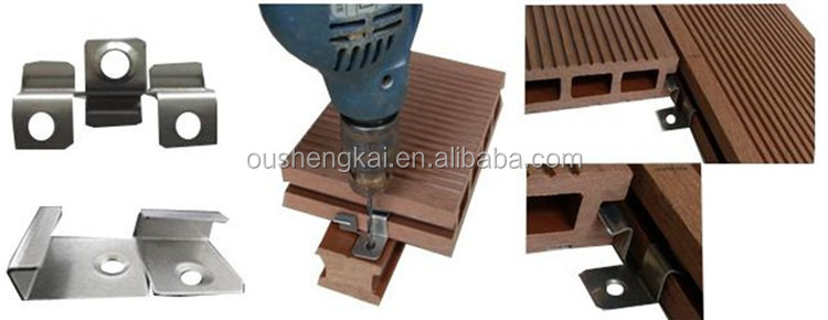 wpc decking clips/clips for decking