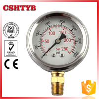 Top selling competitive price bourdon tube manometer