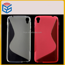 Soft S Line Gel TPU Case For TCL I806 Back Protective Cover