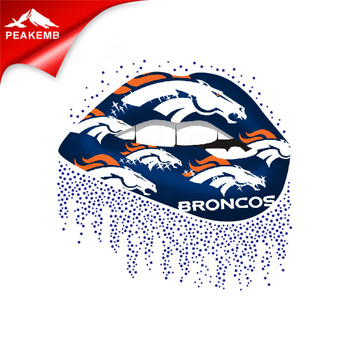 Broncos PU Iron On Heat Press Vinyl for T-shirt