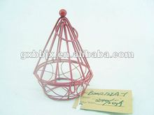 Wire Chocolate gif packaging box with round bottom for Christmas decor