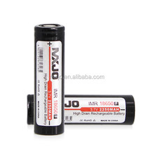 MXJO IMR 18650F 2250MAH 3.7V HIGH DRAIN FLAT TOP BATTERY