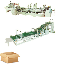 Corrugated cardboard production line with A B C D E flute 3 5 7 layer