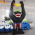 Customized color inflatable gorilla animal / giant inflatable model for advertising