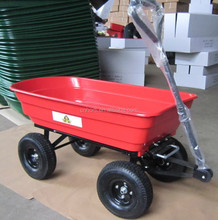 garden cart TC2145 with PVC tray 3.50-4 wheel 250kg for American maket