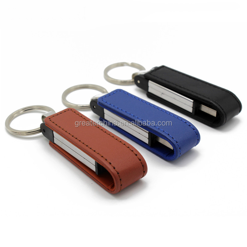 Leather usb flash drive PC accessories Novelty Leather USB Flash Drives