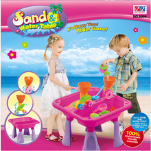 hot summer products plastic sand beach and water table tool toy
