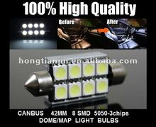 42mm T10 8SMD canbus decoder