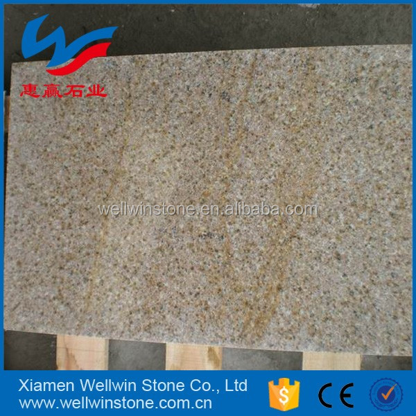 First Choice Outdoor Paving Stone Yellow Rust Granite Flamed Tiles