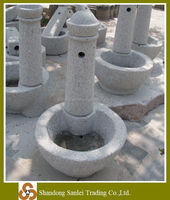 carved granite classical outdoor stone water fountain