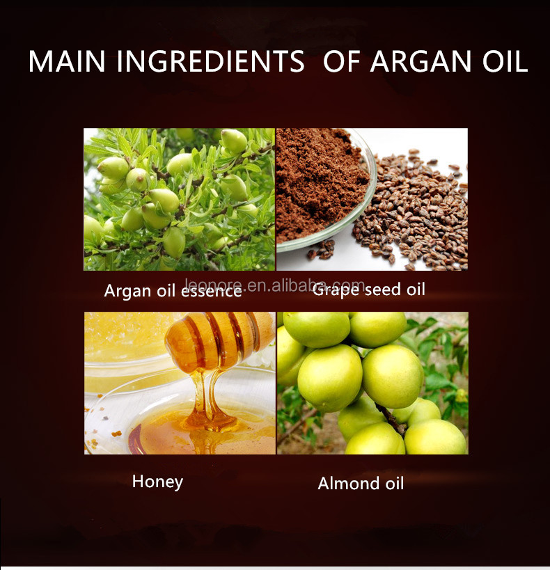 Natural cold-pressed argan oil hair shampoo