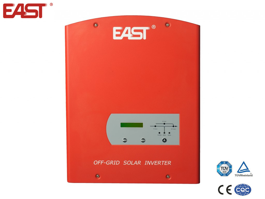 Off grid solar 12v 220v pure sine wave inverter 500W to 2400W with MPPT charge controller PF 0.8