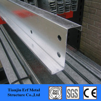 A 36 Cold Formed Z Purlin , Z Channel , Roof Support Steel Beam