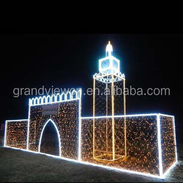String Lights Kuwait : Led Fabrication Of Architectural Monument Motif Castle Lights For Kuwait National Day - Buy Led ...