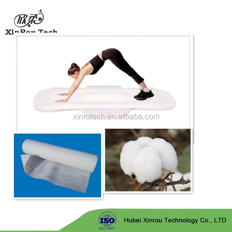 Soft 100% Cotton Nonwoven for Disposable Paper Pants Making