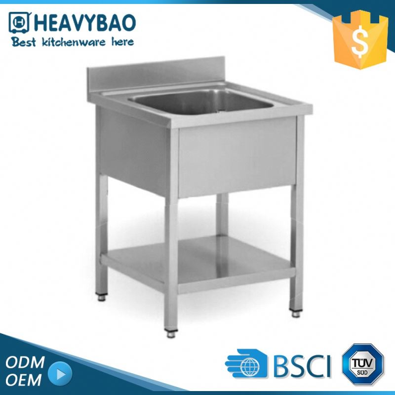 Heavybao Top Grade Stainless Steel Kitchen Table Top Sink