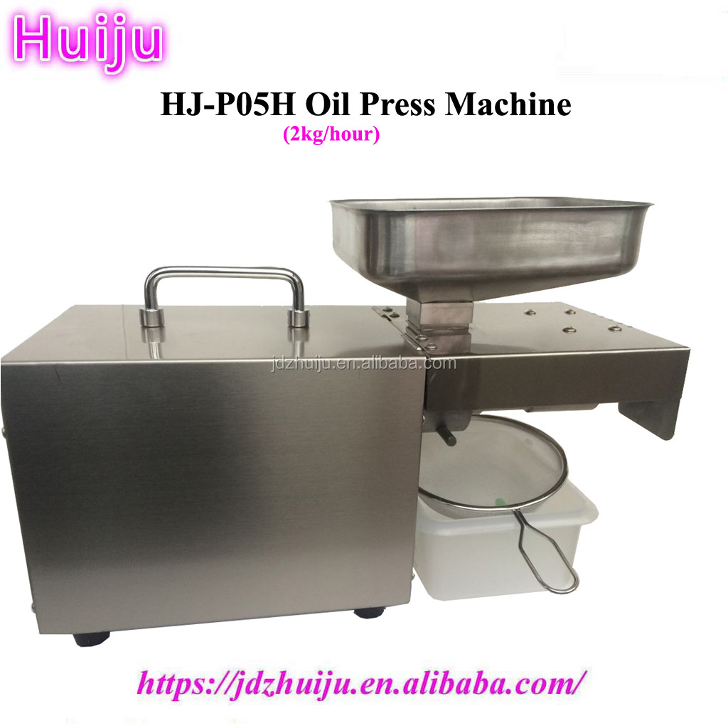 durable small size automatic mustard oil machine/stainless steel oil press machine HJ-P07