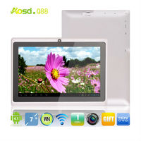 wholesale clearance sale allwinner q88 angry of birds 512MB 4GB tablet 7 inch dual camera