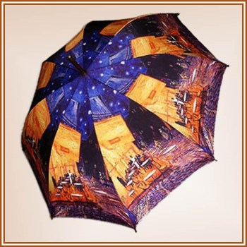 high quality triple folding umbrella digital print/ Z57