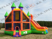 hot sale combo bouncer, inflatable combo for kids play and adult sport games