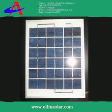 2W 1V poly solar board 3cell mini power solarboard panels with transparant epoxy resin filled solar panels