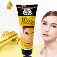 2017New Skin Care Collagen Crystal 24K Gold Facial Mask